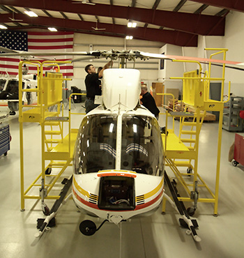 Helicopter Maintenance at Hillcrest Aircraft Co